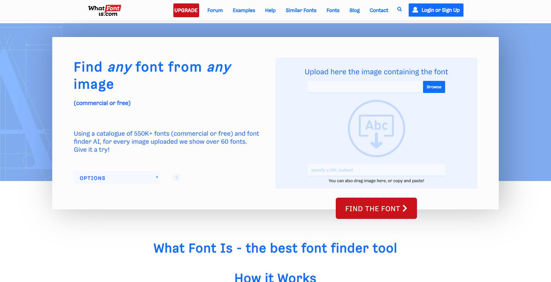 Siti Dove Caricare Foto trovare font da immagine: 6 siti dove riconoscere un font